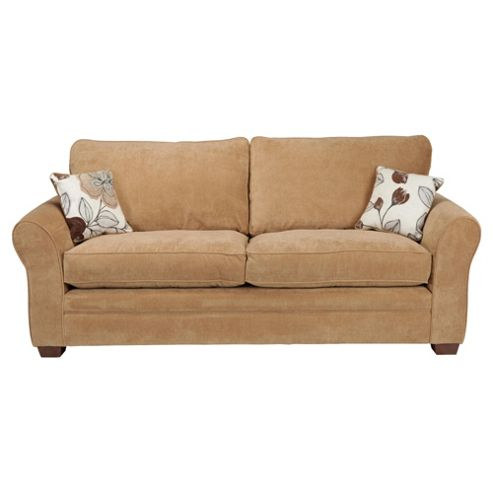 Amelie Large Standard Back Fabric Sofa, Camel