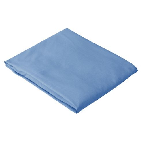Tesco Kids Single Fitted Sheet, Twinpack - Blue