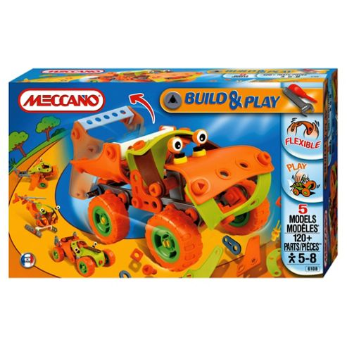 Meccano Build & Play Tipper Truck