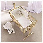Clair de Lune Starburst 2pc Rocking Crib Set, Cream