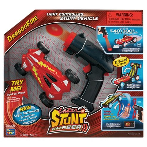 Lazer Stunt RC Toy Chaser- Assortment – Colours & Styles May Vary