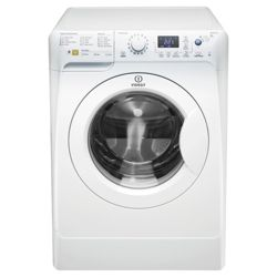 Indesit PWE91272 Washing Machine, 9kg Wash Load, 1200 RPM Spin, A++ Energy Rating. White