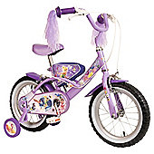"Disney Fairies 14"" Kids' Bike - with stabilisers"
