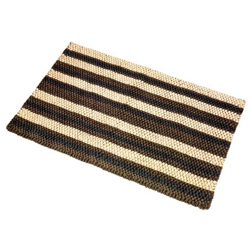 Tesco Chunky Jute Stripe Indoor Mat