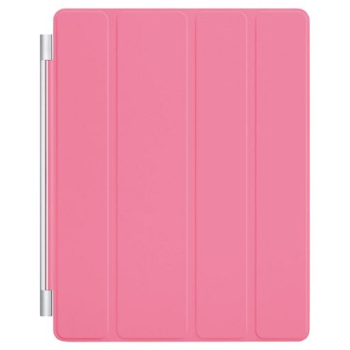 Apple IPad Polyurethane Smart Cover Light Pink