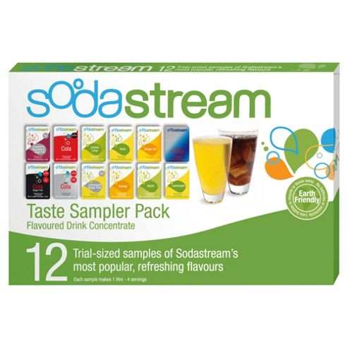 Sodastream Multi Portion Pack with 12 Flavours