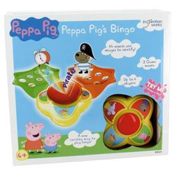 Peppa Pig Bingo Game