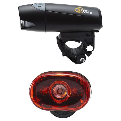 Via Velo Bike Light Set