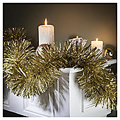 Tesco Large Box Of Christmas Tinsel, Gold
