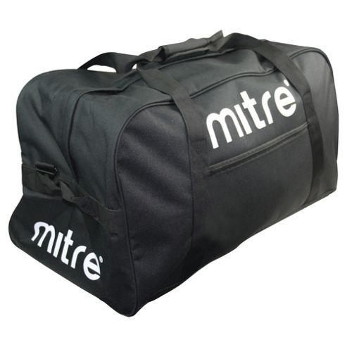 Mitre Sports Gym Kit Bag Holdall, Black