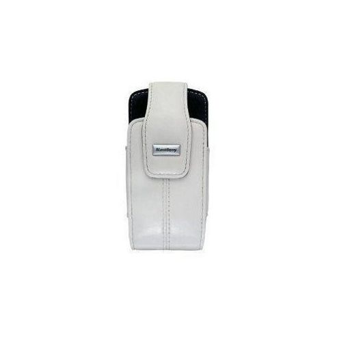 BlackBerry® Lambskin Swivel Holster White