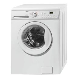 Zanussi ZKG7145 Washer Dryer, 6kg Wash Load, 1400 RPM Spin, C Energy Rating. White