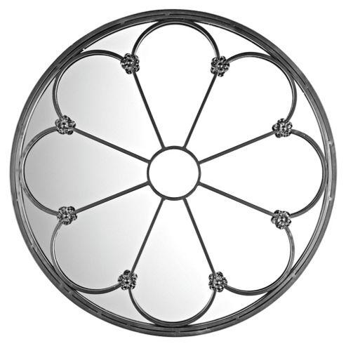 Round Flower Mirror