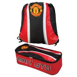 Manchester United Boot Bag & Gym Bag