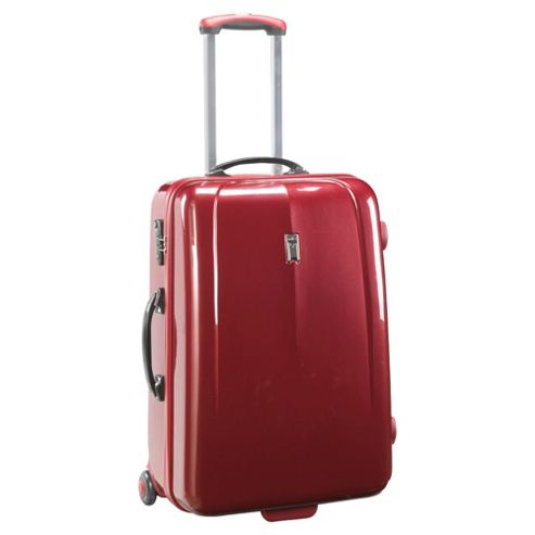 Antler Moderna 2-Wheel Hard Shell Suitcase, Red Medium