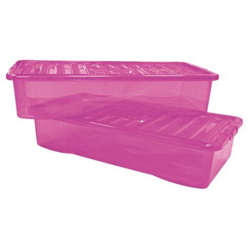 42L Box, 2 Pack Pink