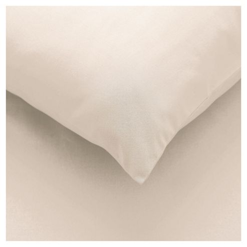 Tesco Pillowcases Set of 4 Cream