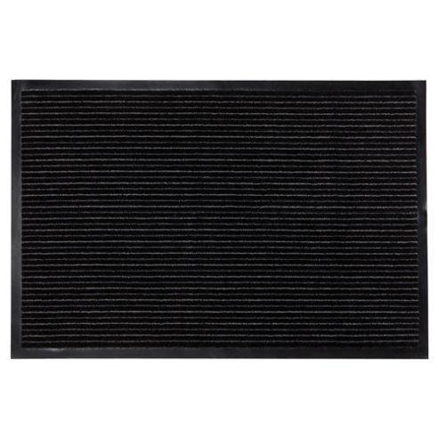 Tesco Stripe Barrier Door Mat Set of 2, Grey