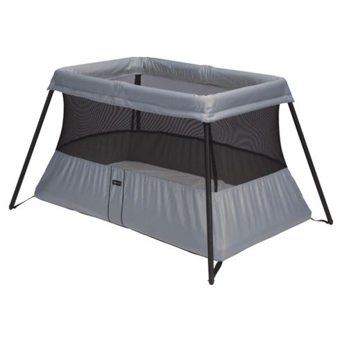 BABYBJORN Travel Cot Light, Silver