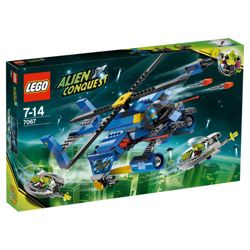 LEGO Alien Conquest Jet Copter Encounter 7067