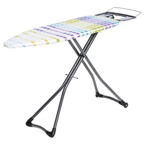 Minky 122x43cm Ironing Board with Plug Socket