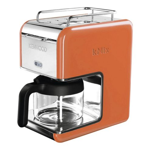 Kenwood K-Mix CM027 Coffee Machine - Orange