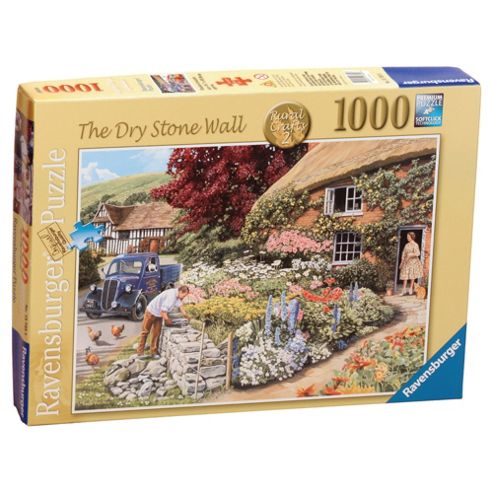 Rural Crafts - The Dry Stone Wall, 1000 Piece Jigsaw Puzzle