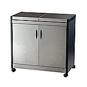 Connoisseur Hostess Trolley, Hl6232Bs - Silver
