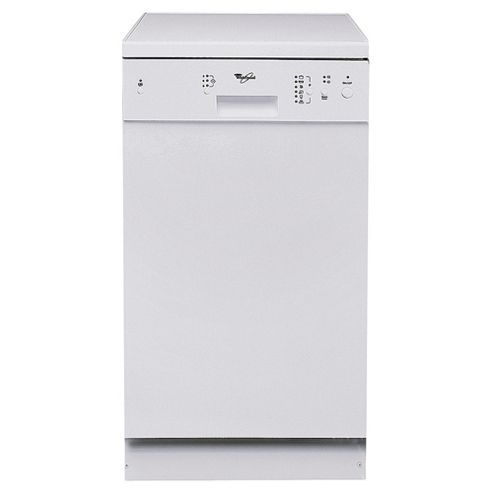 Whirlpool ADP 451/Wh Slimline Dishwasher, A Energy Rating. White
