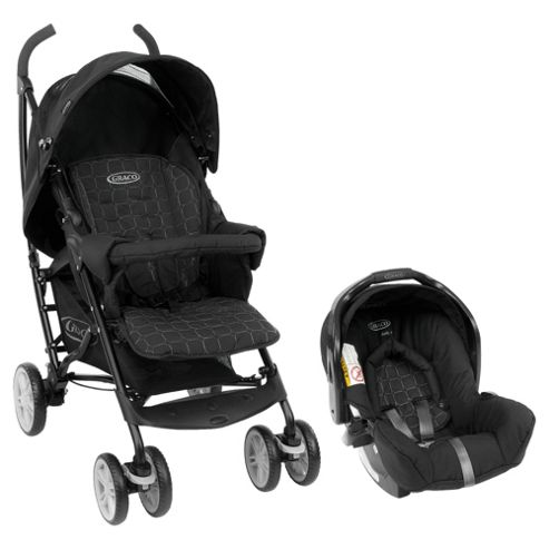 Graco Mosaic Travel System, Mode Noir