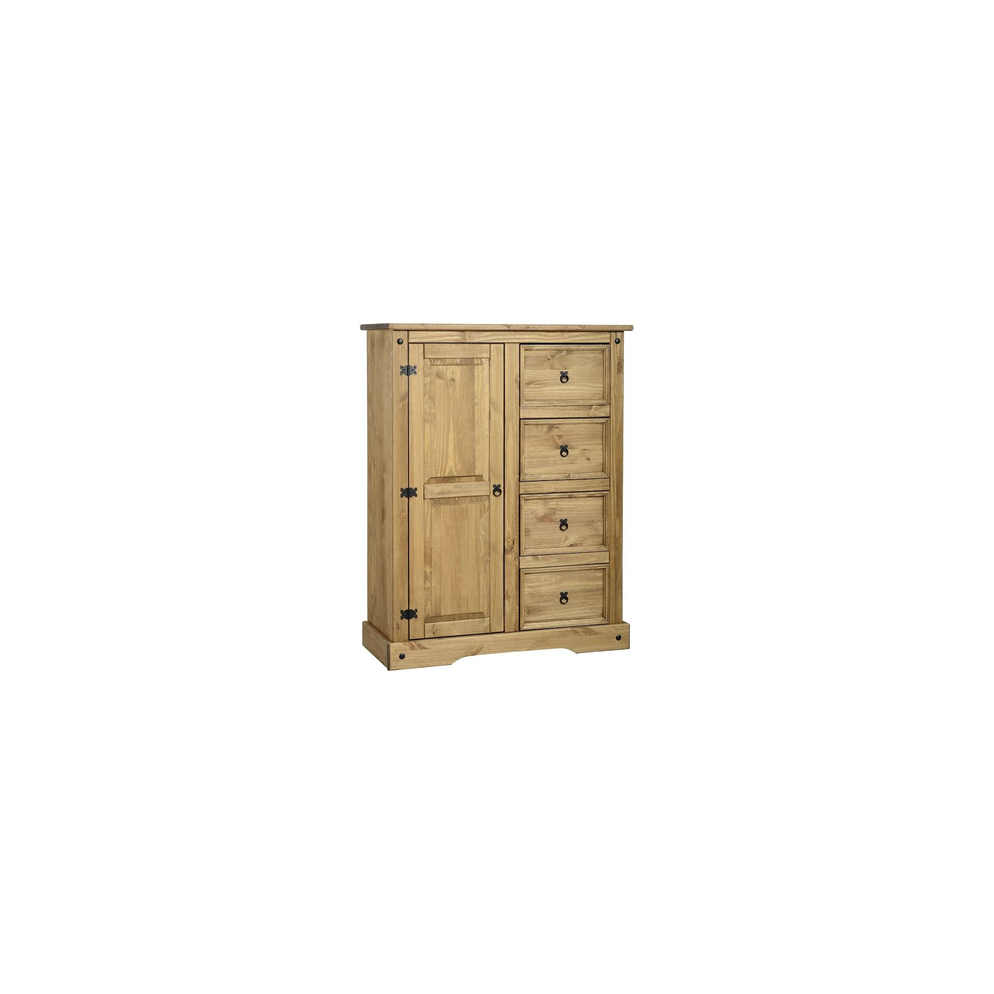 Home Essence Corona 4 Drawer Low Wardrobe at Tesco Direct