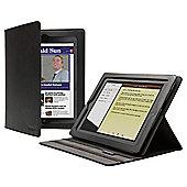 Cygnett Lavish Black Folio Stand Case for Apple iPad 2