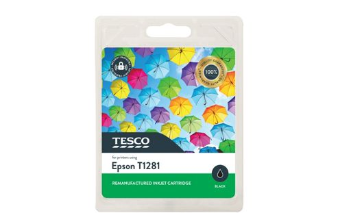 Tesco E1281 Printer Ink Cartridge Black