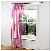 Tesco Pair Voile Channel Top - Pink