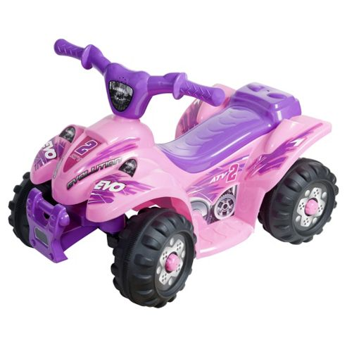 Evo ATV Quad Bike 6v Ride-On, Pink