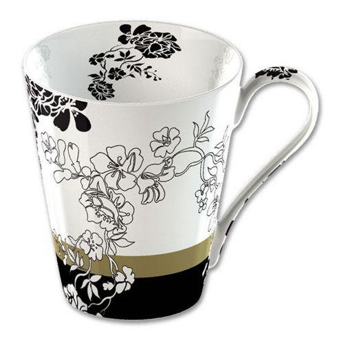 V&A Fine Bone China Mug in Gift Box - Brocade