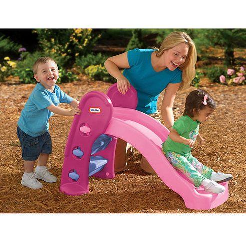 Little Tikes Junior Slide, Pink