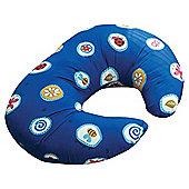 Widgey Pillow, Blue Fossil