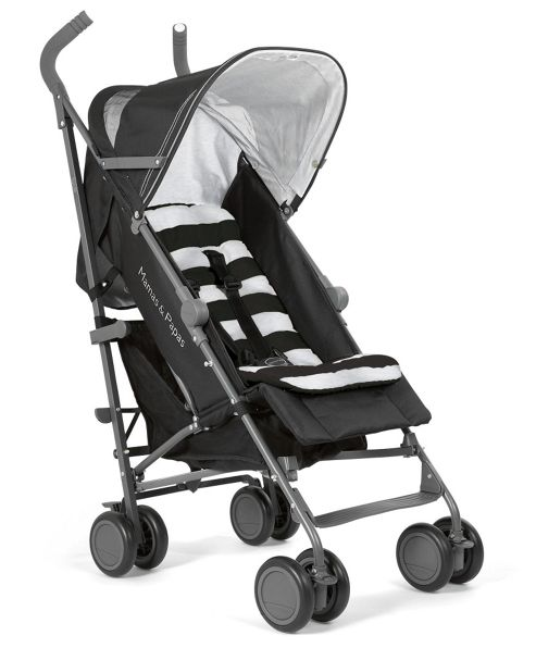 Mamas & Papas Tour Buggy, Black/Marl