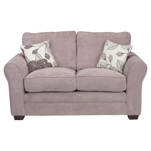 Amelie Small 2 seater  Standard Back Fabric Sofa, Lilac