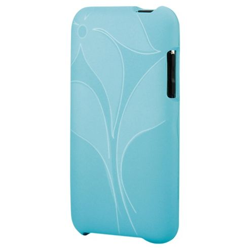 Contour Design Hardskin Inked Touch 3G Case iPhone Abstract Flower Turquoise