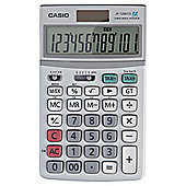 Casio Computer JF-120 ECO Desktop Solar Calculator, Silver