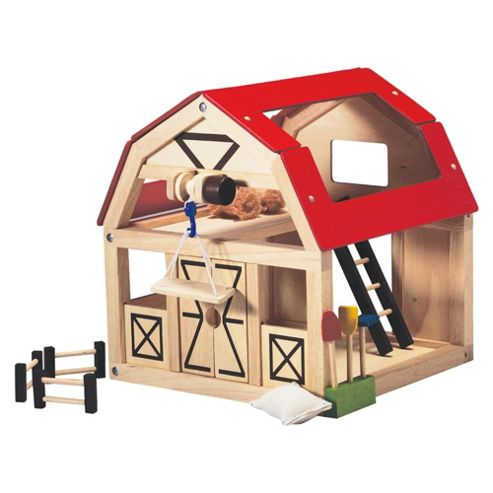 Plan Toys Barn Set Wooden Toy