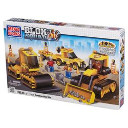 Mega Bloks Blok Squad Ultimate Set Construction Site
