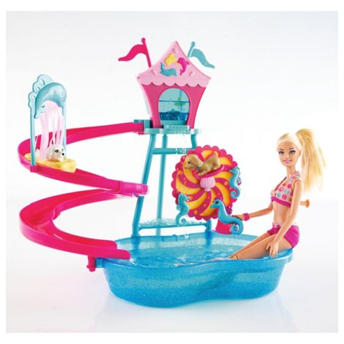 Barbie Puppy Water Park Playset