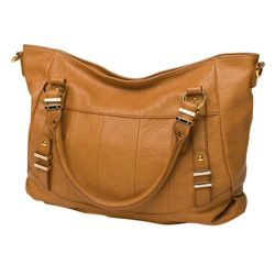 Kids Line Whipstitch Changing Bag, Camel