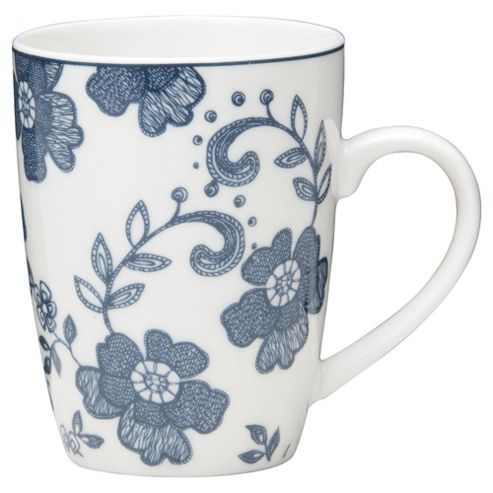 Tesco Annabel Set of 4 Mugs