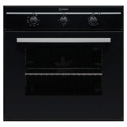 Indesit FIM 31 KA BK GB Black Built In Single Oven