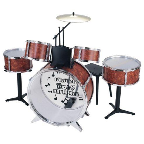 Bontempi Jd4830 6 Piece Drum Set & Stool