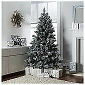 Festive Snowy Pine Christmas Tree, 6ft
